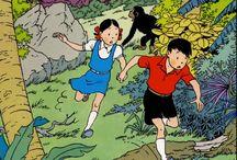 Французские комиксы - Bande Dessinee - графические романы