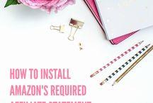 Blogging: Amazon Affiliate