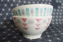 Sélection Pastel / Une jolie sélection de vaisselle et objets de déco aux couleurs pastel... Jaune pâle, bleu ciel, vert mint... Quelle teinte est votre préférée ? :)