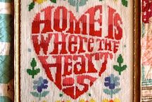 ♥ HOME IS WHERE THE HEART IS ♥