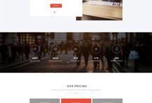 PSD Landing Pages