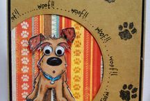 Tim holtz crazy dogs