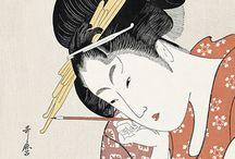 Oriental geisha designs
