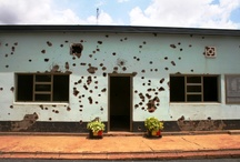 Rwanda / In 1994 over one million Tutsis and moderate Hutus were killed in the space of just 100 days.  The Hutu killers referred to their victims as 'cockroaches'.  Despite an armed presence from the UN, the international community did not intervene and the world looked on as the genocide unfolded.