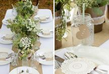 Décoration  mariage champêtre nature / Mariage champêtre nature DIY campagne