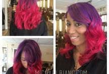 Michael Bianc   Color / Amazing hair colors designed by the Michael Bianc team!