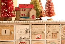 Advent calendars / Advent calendars aren't just chocolate candy in a paper window anymore! Here are some of the clever ideas I've seen for countdown calendar treats, crafts and projects for Christmas and other holidays. / by Paula Wethington