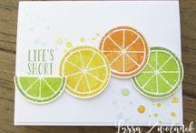 Lemon Zest SU / Lemon Zest Stamp Set and Coordinating Lemon Punch from Stampin' Up!