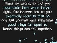 favorite sayings / by Sonya Williams