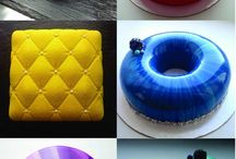 glazed cakes