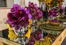 » La Dogaressa Flowers | Venice, Italy « / Here are some lovely pictures of VG tableware and flower arrangements from La Dogaressa Flowers, well-known flower shop in Venice.