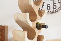 Wooden Wine racks & Console Table