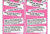 Relief Society Activities