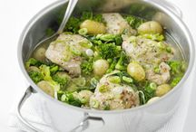 Springtime Recipes / Nutritious and delicious, here are some of our favourite springtime recipes.