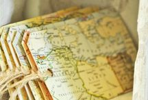 Creative uses for old maps