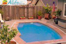Patio Pools from Aloha Fiberglass Pools / Patio Pools from Aloha Fiberglass Pools.