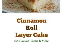 Cinnamonroll laagjes taart
