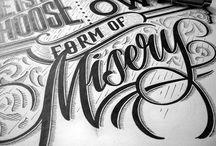 Hand lettering stuff