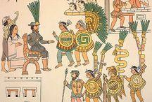 16TH-INCAS - AZTECS AND SPANISH