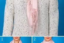 formas de usar lenço