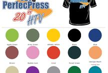 PerfecPress HTV Shirts / Tshirts made with our very own PerfecPress Heat Transfer Vinyl! PerfecPress HTV is a 20 inch HTV at very affordable prices! If 15 inch HTV is not giving you the best usage of your HTV, try our PerfecPress HTV. Great PU composition, very soft feel and easy to layer. Weeds easy and presses on to shirts at 285 F after 8 seconds! One of the lowest press temp HTV on the market!  Purchase at http://www.jsisigns.com/cgi-bin/commerce.cgi?preadd=action&key=PPRESS