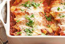 Manicotti, Ravioli, Shells & Tortellini / by Holly Lubart
