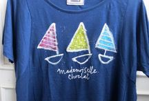 Barcos de cartón / T-shirt