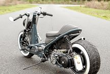 honda zoomer custom and other scoots