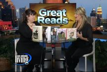 San Antonio Living Book Picks Segments / Here's a list of my segments on WOAI's San Antonio Living with Shelly Miles. A great big thanks to Erica Guerva and Shelly Miles for having me on each month.