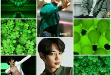 Kpop Colored Collage