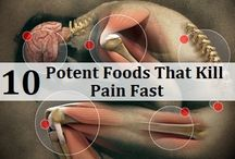 Pain killing foods and drinks