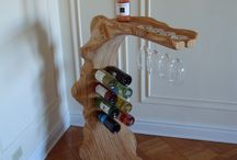 Viinipullonteline / recycling
