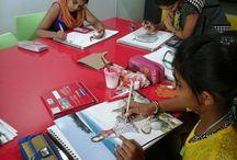 Stylization by INIFD, Gandhinagar / Stylization by INIFD, Gandhinagar