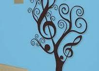 muzieklokaal - wall pictures