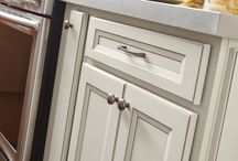 Cabinet Storage & Accessories / Extra storage is always a great thing, plus the right accessory can give it the perfect look. #prescottkitchens www.PrescottKitchens.com
