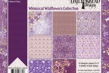 ODBD Whimsical Wildflowers Paper Collection