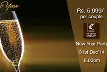 Welcome 2015 ! / Ring in the New Year celebrations with us. http://bit.ly/GrandGoaDream
