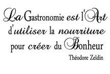 gourmandise/cuisine/amour