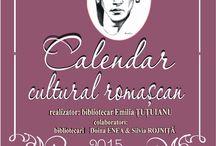 Calendar cultural romaşcan