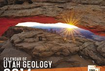 2014 Calendar of Utah Geology / The Utah Geological Survey 2014 Calendar of Utah Geology has arrived. The calendars are on sale for $4.95 each or $4.25 for orders of 10 or more at the Utah Natural Resources Map & Bookstore, 1594 West North Temple in Salt Lake City.  The photos are taken by staff members who are often on assignment in some of the most intriguing areas of the state.