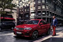 BMW X4 / The new BMW X4 blends the hallmark features of the successful BMW X family  of SAV's with the sporting elegance of a classical coupe, and introduces the unique Sports Activity Coupe concept to the premium mid-size segment.