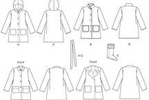 Slow fashion patterns / Patterns