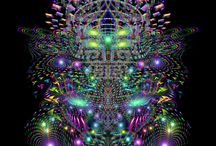 Enter the Void / A series of illustrations that exist within a void #samuelfarrand #visionaryart #psychedelicart #psyart