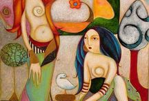 Faiza  Maghni   painter Oran