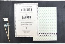 Clean and Rustic Wedding Paper