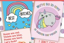 Anti Valentine's Day Valentine's Day / Funny non soppy Valentine's day cards and ideas