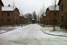 Auschwitz januari 2014 / Visiting Auschwitz and Birkenau with my father and sister.
