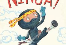Picture Books - Ninjas / Picture books about ninjas.