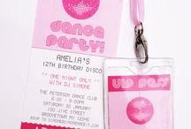 Tias 12th birthday party / Disco