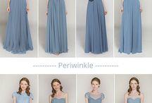 Forlovedes kjoler